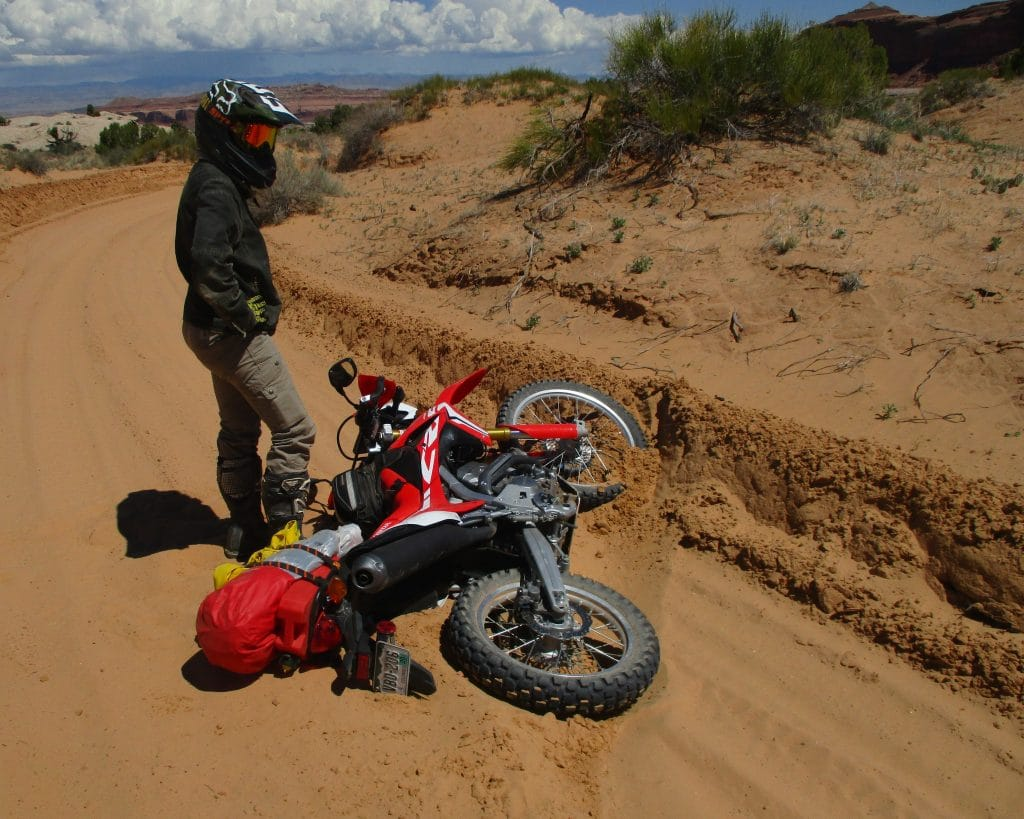 Adventure through off-road riding can bring struggles, but it also brings great joy and fulfillment.