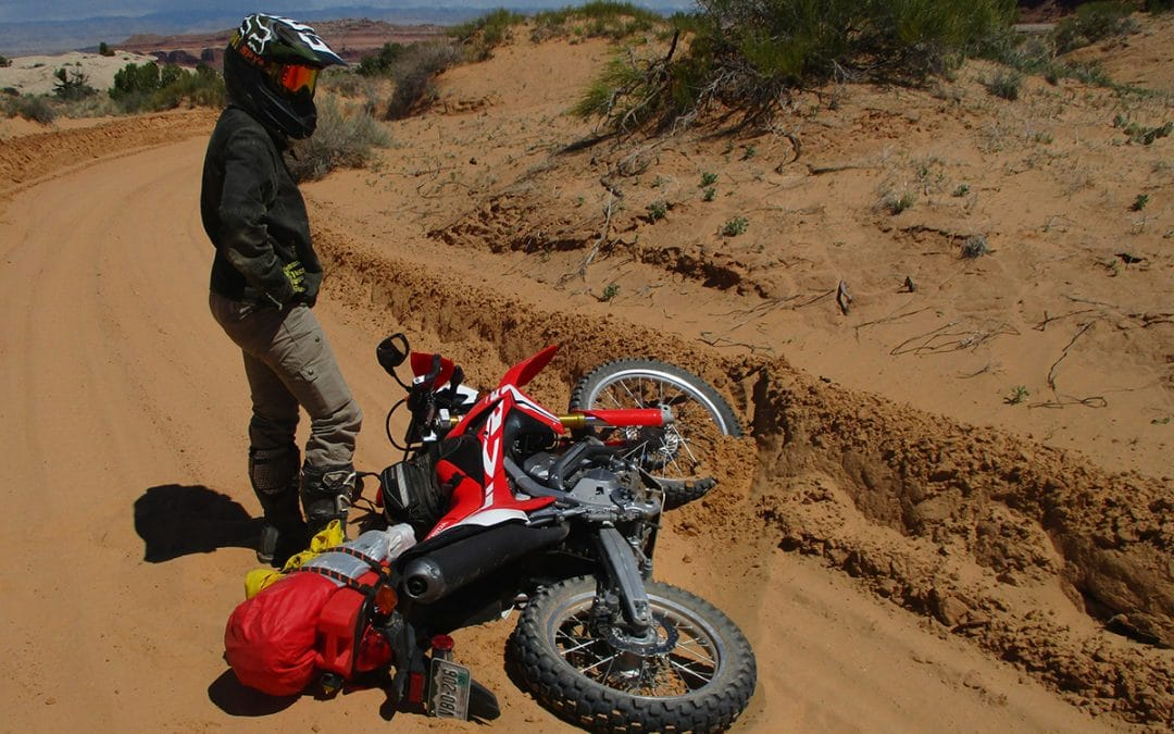 """Is my bike okay?"" and Other Off-Roading Lessons"