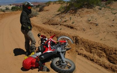 """""""Is my bike okay?"""" and Other Off-Roading Lessons"""
